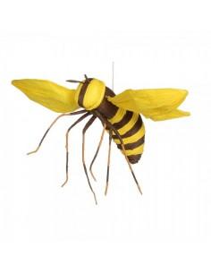 Abeja volando talla m para la decorar espacios y escaparates de verano con mamíferos y aves