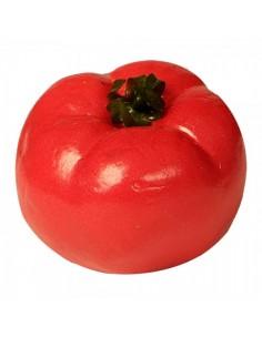 Imitación de tomate rojo natural para la decoración de escaparates en verano con imitación alimentos