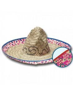 Sombrero mexicano salvatore para escaparates en verano de tiendas o comercios