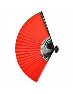 Abanico de papel de seda para escaparates en verano de tiendas o comercios
