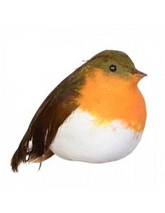 Pájaro con barriga sentado para la decorar espacios y escaparates de verano con mamíferos y aves