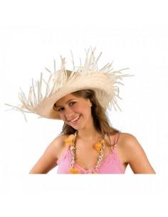 Sombrero caribeño sombrero de paja para escaparates en verano de tiendas o comercios