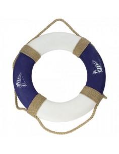 Salvavidas marino para la decoración de escaparates marítimos en tiendas
