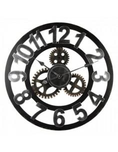 Reloj de pared con mecanismo estilo steampunk para escaparates en verano de tiendas o comercios