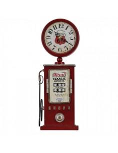 Reloj gasolinera retro-bomba de gasolina para escaparates en verano de tiendas o comercios