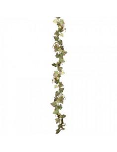 Guirnalda de hojas parra de uva para la decoración de la vendimia en licorerías catas bodegas de vino