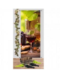 Set de decoración de la vendimia-recogida de la uva para la decoración de la vendimia en licorerías catas bodegas de vino