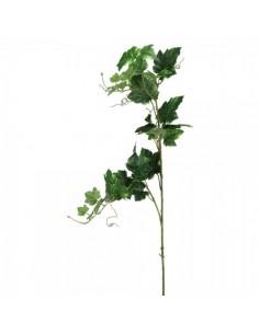 Selección de rama de hoja de uva verde 105 cm para la decoración de la vendimia en licorerías catas bodegas de vino