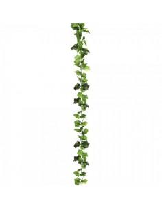 Guirnalda de hojas de parra para la decoración de la vendimia en licorerías catas bodegas de vino