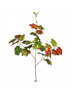 Rama de hoja de parra 3 ramas para la decoración de la vendimia en licorerías catas bodegas de vino