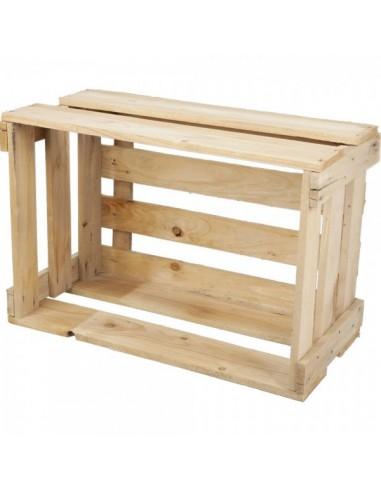 Caja de tablillas de madera para el vino para la decoración de la vendimia en licorerías catas bodegas de vino
