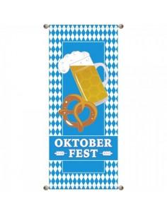 Banner-poster fiesta de bavaria oktoberfest Para la decoración de escaparates de tiendas
