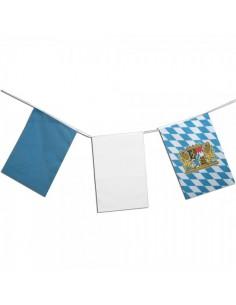 Banderines rectangulares variados de bavaria oktoberfest para la decoración de fiestas populares y escaparates
