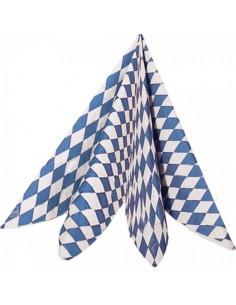 Servilletas con estampado de bavaria oktoberfest para la decoración de fiestas populares y escaparates