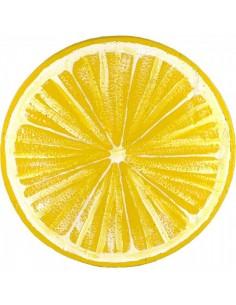 Rodaja de limón xxl para escaparates y decorar espacios de países y viajes