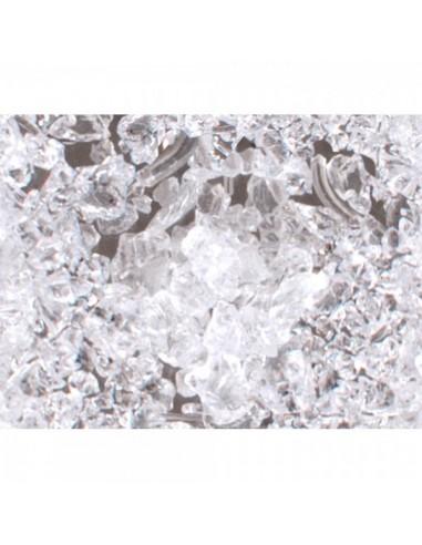 Imitación hielo picado 780g para la decoración de espacios en hoteles y escaparates en tiendas