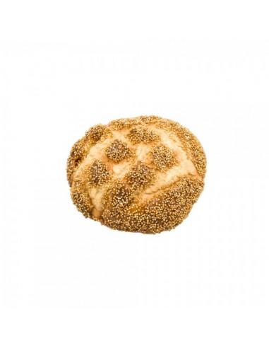 Imitación panecillo redondo de sésamo para panaderías pastelerías y escaparates de tiendas
