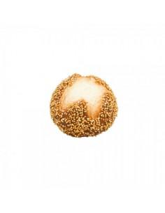 Imitación panecillo redondo de semillas de sésamo para panaderías pastelerías y escaparates de tiendas