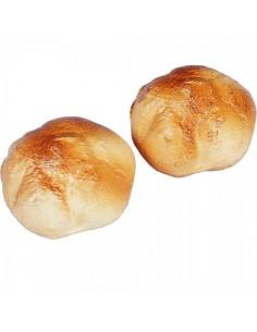 Imitación panecillo redondo para panaderías pastelerías y escaparates de tiendas