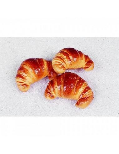Imitación croissant marrón para panaderías pastelerías y escaparates de tiendas
