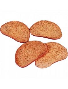 Imitación rebanadas de pan de centeno para panaderías pastelerías y escaparates de tiendas