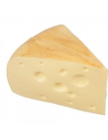 Imitación porción de queso emmental para queserías y charcuterías y escaparates de tiendas