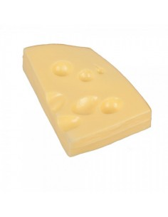 Imitación rebanada de queso suizo para queserías y charcuterías y escaparates de tiendas