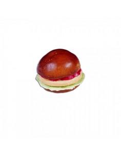 Imitación hamburguesa para franquicias de comida rápida fast food y escaparates de tiendas