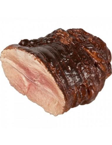 Imitación rosbif (roast beef) asado para charcuterías y la decoración de escaparates de tiendas