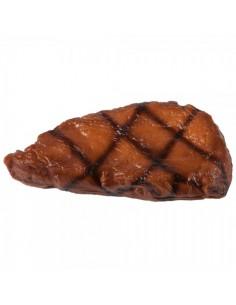 Imitación filete asado barbacoa para charcuterías y la decoración de escaparates de tiendas
