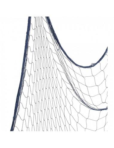 Imitación red de pesca marina para pescaderías y la decoración de escaparates de tiendas o comercios