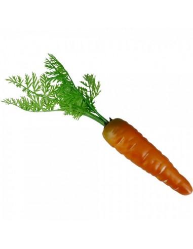 Imitación zanahoria natural para fruterías y la decoración de escaparates de tiendas o comercios