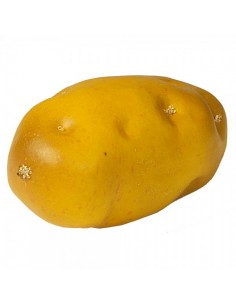 Imitación patata con piel para fruterías y la decoración de escaparates de tiendas o comercios