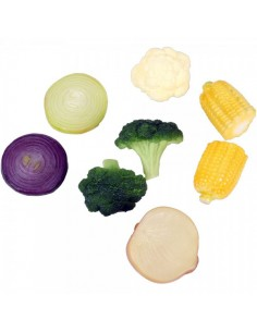 Imitación mezcla de verduras para fruterías y la decoración de escaparates de tiendas o comercios
