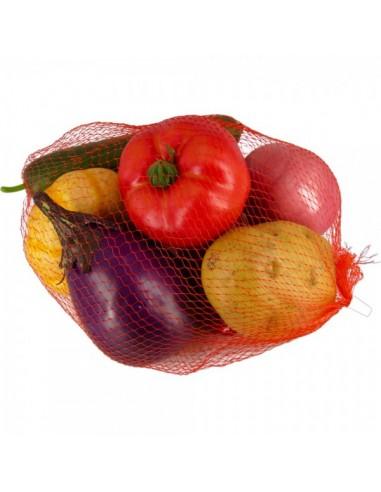 Imitación surtido verduras hortalizas para fruterías y la decoración de escaparates de tiendas o comercios