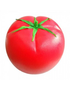 Imitación tomate grande rojo xl para fruterías y la decoración de escaparates de tiendas o comercios