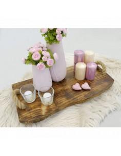 Imitación tabla de madera para hortalizas para la decoración de espacios y escaparates de tiendas