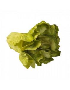 Imitación lechuga española verde para fruterías y la decoración de escaparates de tiendas o comercios