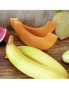 Imitación porción de calabaza para fruterías y la decoración de escaparates de tiendas o comercios