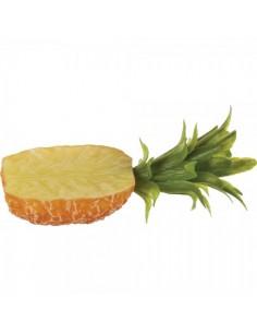 Imitación piña natural con hojas para fruterías y la decoración de escaparates de tiendas o comercios