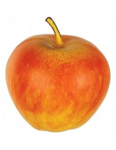 Imitación manzana roja-amarilla para fruterías y la decoración de escaparates de tiendas o comercios