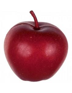 Imitación manzana roja para fruterías y la decoración de escaparates de tiendas o comercios