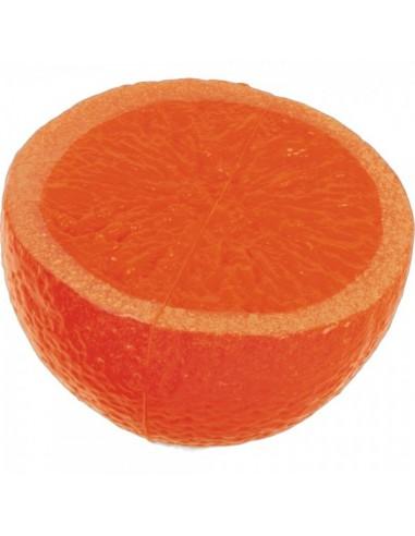 Imitación media naranja para fruterías y la decoración de escaparates de tiendas o comercios