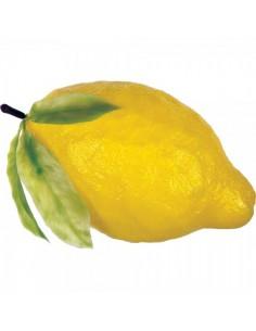Imitación limón amarillo grande para fruterías y la decoración de escaparates de tiendas o comercios