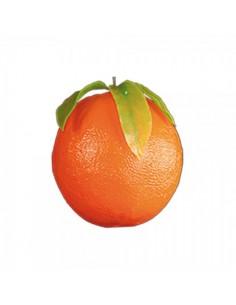 Imitación naranja con hojas para fruterías y la decoración de escaparates de tiendas o comercios