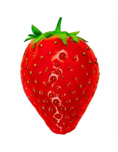 Imitación fresa roja impresa para fruterías y la decoración de escaparates de tiendas o comercios