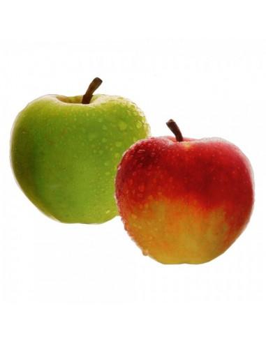 Imitación manzana verde impresa para fruterías y la decoración de escaparates de tiendas o comercios