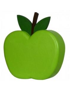 Imitación decoración manzana verde para fruterías y la decoración de escaparates de tiendas o comercios