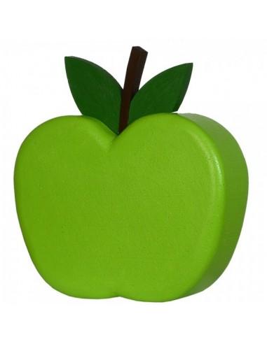 Imitación decoración manzana verde xl para fruterías y la decoración de escaparates de tiendas o comercios