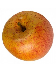 Imitación manzana roja amarilla fuji para fruterías y la decoración de escaparates de tiendas o comercios
